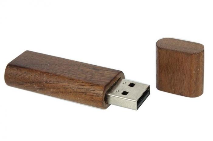 USB in Legno