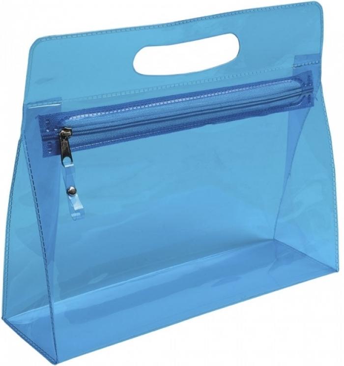 Beauty case PVC trasparente