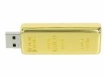 Chiavetta USB dorata