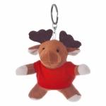 Portachiavi peluche personalizzati a forma di renna
