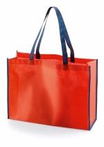 Shopper con contrasto colore