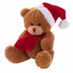 Orsacchiotti personalizzati con cappello di Babbo Natale