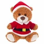 Teddy bear vestito da babbo natale personalizzati