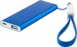 Power bank con cordino