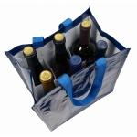 Shopper porta bottiglie da 6