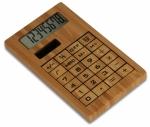 Calcolatrici in legno personalizzate