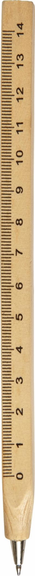 Penne in legno righello