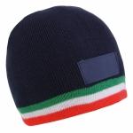 Cappellini invernali con tricolore personalizzati