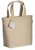 Shopper piccola in cotone organico