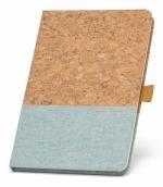 Quaderni in sughero e lino personalizzati