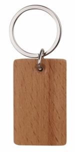 Portachiavi rettangolari in legno