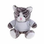 Peluche a forma di gatto personalizzati
