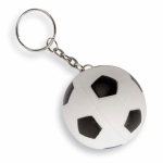 Portachiavi a forma di palla da calcio