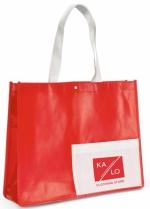 Shopper in TNT personalizzate con chiusura