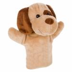 Burattino peluche a foma di cane personalizzati