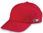 Cappellini con bandiera tricolore laterale