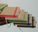 taccuini con bordi colorati