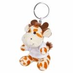 Portachiavi pupazzi personalizzati a forma di giraffa