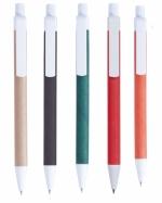 Penne in carta reciclata con logo aziendale