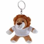 Portachiavi peluche personalizzati a forma di leone