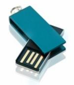 USB in metallo incisione