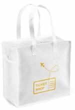 Shopper in tnt personalizzabili con zip