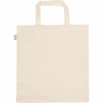 Shopper personalizzate in cotone organico manici corti