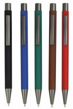 Penne in metallo gommato personalizzabili