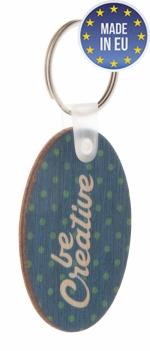 Portachiavi in legno personalizzati all over
