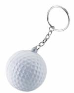 Portachiavi a forma di palla da golf
