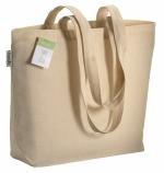 Shopper personalizzate in cotone biologico
