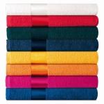 Asciugamani colorati personalizzati