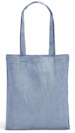 Shopper melange in cotone riciclato