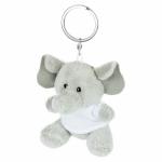 Portachiavi pupazzi personalizzati a forma di elefantino