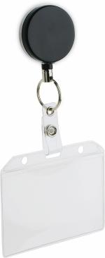 Porta badge con clip