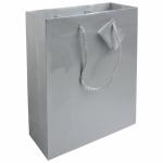 Sacchetti di carta argento personalizzati