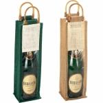 Porta bottiglie in Juta