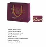 Sacchetti carta - confezionamento bottiglie di vino